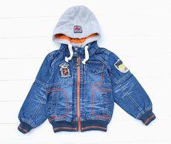 Джинсовая куртка 98-122р. 20236 didi,21