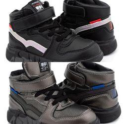 Ботинки 25-30р. clibee 966 черные, серые 13