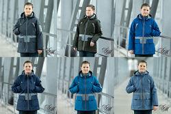 Парка куртка - жилет на подстёжке для мальчика Стронг 122-152р. , 38