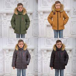 Зимняя куртка на мальчика классик 110-152р,17
