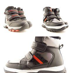 Зимние ботинки clibee для мальчика 27-32р 609343,609344,19