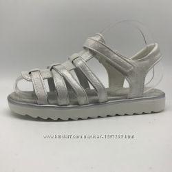 Босоножки для девочки ТомМ 3704B белый с отделкой серебро, 32-37 р. , 13