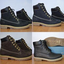 Зимние кожаные ботинки 36-40 р