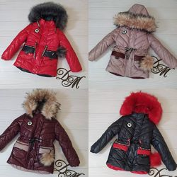 Зимняя куртка милашка 92-116р.38
