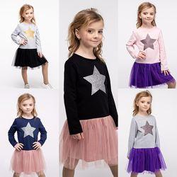 Нарядное платье для девочек звезда 98-140р. 20852,20851,20853,44