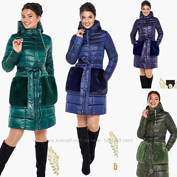 Демисезонный воздуховик куртка женская braggart 42-54 р. 31845 angels flu