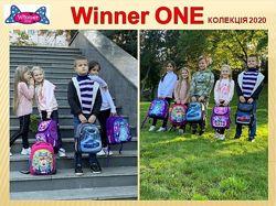 Winner Stile объемная 3D картинка рюкзак ранец школьный, подростковый