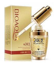 Сыворотка с колоидным золотом и гиалуроновой кислотой BIOAQUA 24K Gold 30мл