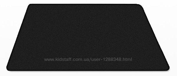 Большой игровой коврик для мыши чисто чёрный 400x900x3mm