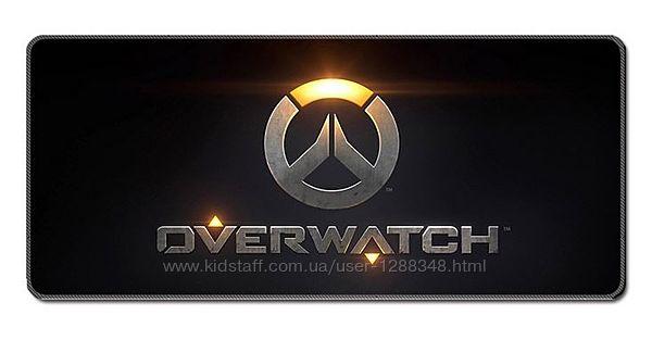 Большой игровой коврик для мыши 400x900x4mm Owerwatch