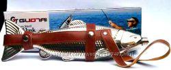 Подарочная Фляга Рыба с ремешком, 540мл