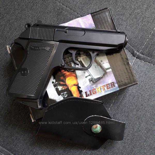 Пистолет зажигалка/ сувенир Вальтер walther