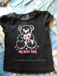 Майка и футболка девочке 1-3года