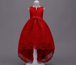 Нарядные платья для девочек 80-140 рост