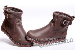 Мужские кожаные сапоги UGG Levi&acutes Classic коричневые