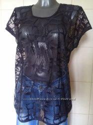 3fec0c7639d6 Ультрамодная, трендовая, крутая, прозрачная дышащая футболка-сетка Taifun