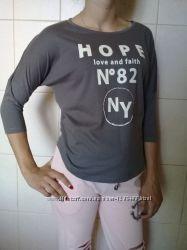 Ультрамодный летний хлопковый реглан-свитшот Hope