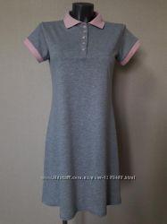 Красивое, эффектное, качественное спортивное прогулочное платье-поло