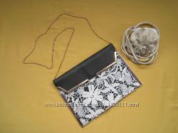 Новая красивенная сумка, клатч на цепочке, New Look, Сток