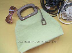 Новая стильная яркая сумка Nine West из текстиля, Сток