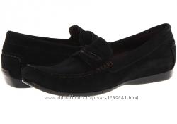 Новые кожаные лоферы MUNRO AMERICAN  черные, р. 38-39, на очень узкую ногу