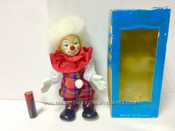 Коллекционный керамический клоун