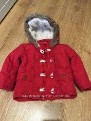 Курточка парка f&f