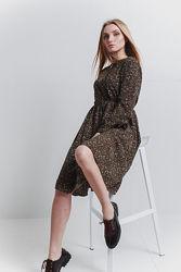 Стильное платье миди, Италия, S-L