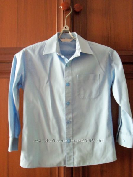 Рубашка школьная на 6-9 лет