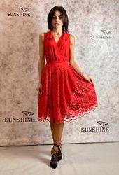 Женское платье из гипюра Poliit 8696