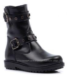 Скидки. Кожаные зимние ботинки Тиранитос Tiranitos, р. 27, 28, 29
