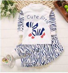 Пижама детская піжама дитяча с начесом плотный хлопок
