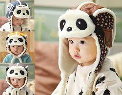 Шапка шарф набор детский осень холодная зима набір дитячий осінь зима