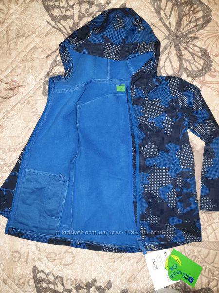 Куртка softshell новая мальчику 2-4 года Mountain warehouse.