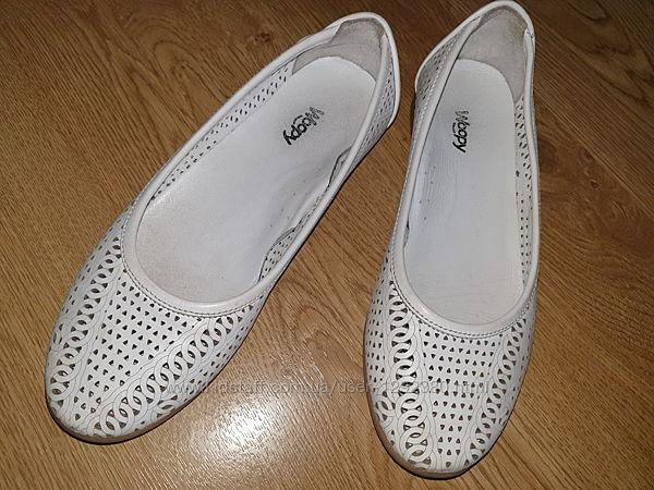 Туфли на девочку кожа размер 34 Woopy