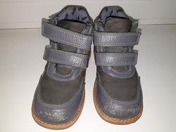 Ботинки деми кожа мальчику Woopy 29р-р