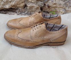 Кожаные туфли Dolcis 44 р.