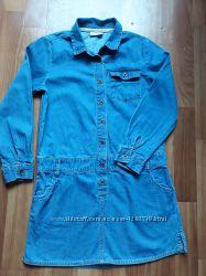 Платье джинсовое Next на 9 лет