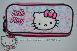 Новая косметичка Hello Kitty с двумя отделениями