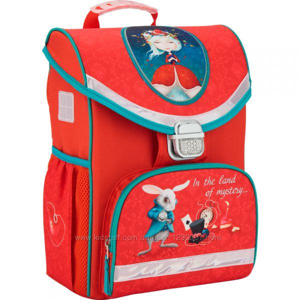 Рюкзак школьный каркасный Kite 529 Alice in wonderland K17-529S-1