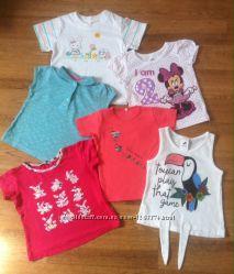 Летние футболки , тенниски моей доченьки Palomino, Name It, Disney д