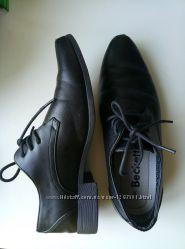 Черные туфли 39 размер на мальчика подростка