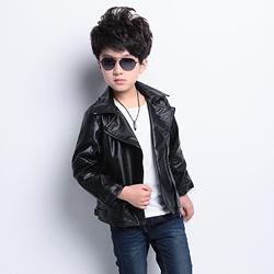 Стильные тонкие косухи детские куртки 120, 130 см