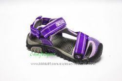 детские сандалики CrossRoad Morty violet, про-во Чехия