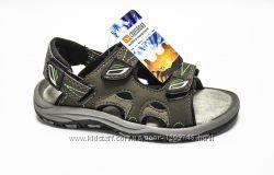 детские спортивные сандалии с анатомической стелькой CrossRoad Megan green