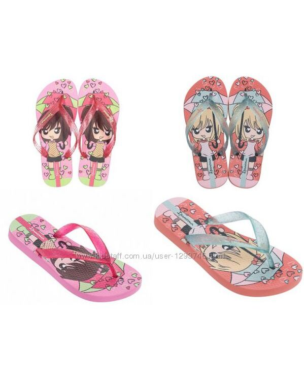 вьетнамки для маленьких модниц Ipanema Classic VI Kids 82304