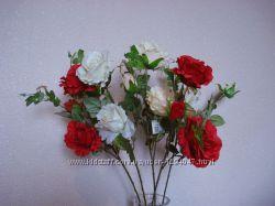 Искусственные цветы Розы, Амаралис, Эустомы, Орхидея
