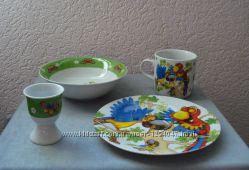 Набор детской посуды на 2 и на 4 предмета