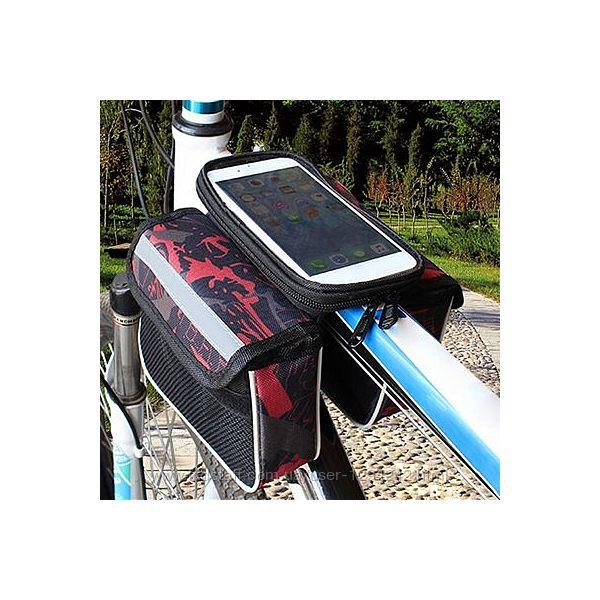 Велосумка на раму велосипеда