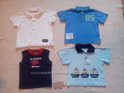 Фирменные футболки Mothercare, Early days, Gymboree 12 -18 мес